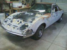 1970 Opel GT that Bob is working on.