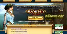 Evony sign up