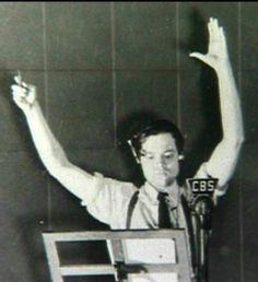 Orson Welles doing radio