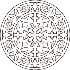 татарские узоры и орнаменты трафареты - Поиск в Google