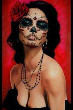 Sugar skull+dia de los muertos