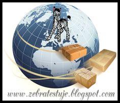 Zebra Testuje: Przesyłki – ach och – co mi przyniósł kurier i lis...