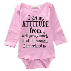 Atitude Girl Bodysuit 💘