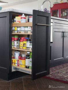 Huge Spice rack pull out