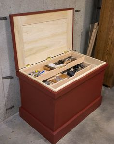 Traditional Tool Chest by Rich Adams Fine Art