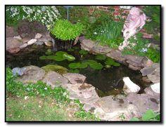 40 Awesome Small Backyard Pond with Lawn Ideas - Beauty Room Decor Garden Soil, Herb Garden, Garden Landscaping, Landscaping Ideas, Garden Ponds, Pond Design, Garden Design, Small Backyard Ponds, Backyard Ideas