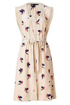 STYLEBOP.com | Sandshell Multicolor Finch Flight Dress von MARC BY MARC JACOBS | Die heißesten Trends aus den Metropolen der Welt
