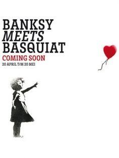 Lionel Gallery haalt twee grote straatkunstenaars naar Nederland: Banksy en Basquiat. Banksy, Culture, Movie Posters, Art, Kunst, Art Background, Film Poster, Performing Arts, Billboard