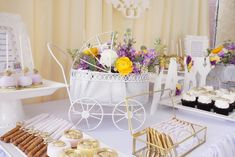 Purple and Yellow Baby Shower - Project Nursery