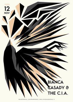 GigPosters.com - Bianca Casady & The C.i.a.