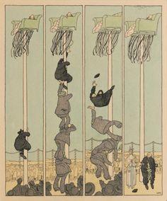 Zwischen Kaiserwetter und Donnergrollen. Die wilhelminische Epoche im Spiegel des Simplicissimus von 1896 bis 1914 -Wilhelm Busch - Deutsches Museum für Karikatur und Zeichenkunst