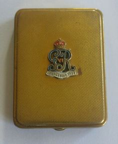 E.R. 1937 Royal Coronation vintage powder compact