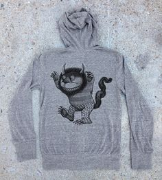 Where the Wild Things Are  Women's Hoodie  by CrawlSpaceStudios, $48.50