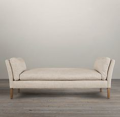 6' Sorensen Upholstered Bench | Ottomans | Restoration Hardware (bedroom)