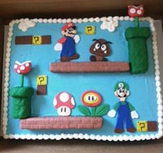 And they say sheet cakes can't be super-awesome.