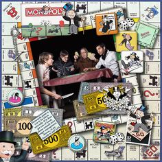 Monopoly Madness   Digital Scrapbooking at Scrapbook Flair
