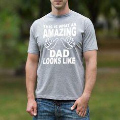 Amazing Dad Funny Mens Shirt Custom Mens Tshirt от 2PApparel
