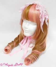 Holy Pearl Headdress - Pink
