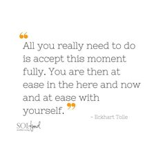 #Mindfulness #wisdom from #EckhartTolle