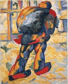 Kazimir Malevich - Man met zak, 1910. Stedelijk Museum Amsterdam