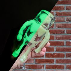 Anatoma Stranger - Icy Crystal (Glow in the Dark) from Flawtoys! #ArtToy #Flawtoys #GlowintheDarkGID #Resin #SpankyStokes