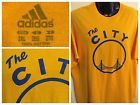 "For Sale - ADIDAS ""THE CITY"" Golden State Warriors NBA T Shirt Vtg Logo Gate Mens, 2XL - See More At http://sprtz.us/WarriorsEBay"