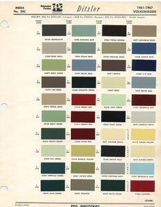 Ca Dbd A E F Fea Eacb E F Vintage Colors Color Codes on 1968 Vw Karmann Ghia Project Car With Parts