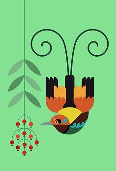 Bird of Paradise 5 by Scott Partridge
