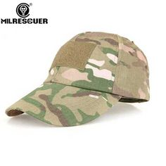 b79a3c92c4934 MILRESCUER Army Military Camouflage Tatical Cap Airsoft Paintball Outdoor  Hunting Baseball Caps Men Multicam Soldier Combat