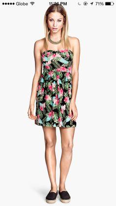 Summer print, summer dress