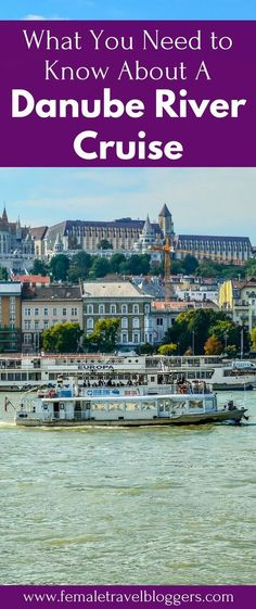 Popular destinations for river cruises in Europe include the breathtaking scenery which can be observed from luxury barges along the Rhine and Danube rivers River Cruises In Europe, European River Cruises, Cruise Europe, Cruise Travel, Cruise Vacation, Rv Travel, Travel Hacks, Vacation Spots, Vacations