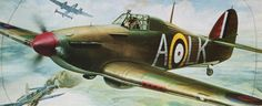 Roy Cross - Hawker Hurricane l (1/24 scale).