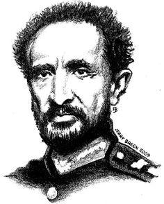 Haile Selassie I sketch