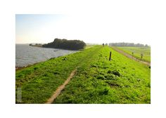 Dutch dike photograph.  6,50 Euro. 10x15cm/4x6 inch #photography #holland #dutch #dutch #landscapephotography #photography