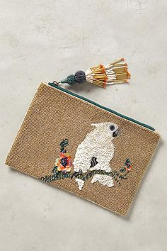 Anthropologie EU Pretty Polly Pouch.