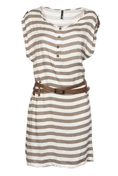 Staple The Label Buy online Not So Nautical Leather Tab Dress - Womens Knee Length Dresses - Birdsnest Online Clothing Store