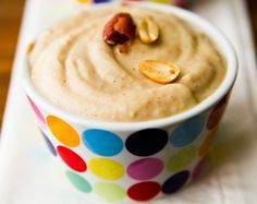 #vegan peanut butter pudding