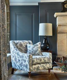 #prestigioustextiles #hampstead #countryliving #homedecor #homeinspo #homeinspiration #fabrics #textiles #softfurnishings #livingroomideas #homeinterior #homeinteriorideas #blue #bluecolourpalette #artsandcrafts #artsandcraftsmovement #britishliving #design #florals #jacobean #upholstery #curtains #cushions Prestigious Textiles, Stunning Wallpapers, Blue Colour Palette, Arts And Crafts Movement, Modern Prints, Soft Furnishings, Home Textile, Upholstery, Interior Design