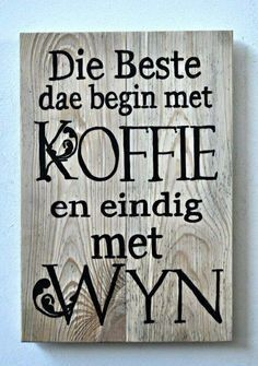 Words To Live By Quotes, Love Quotes For Him, Me Quotes, Good Night Quotes, Morning Quotes, Lekker Dag, Coffee Room, Coffee Corner, Magic Bottles
