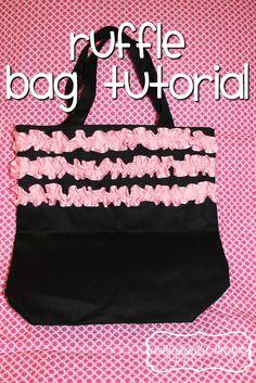 Cute Way To Make Any Plain Bag Wonderful Gymnastics Bags Ruffles