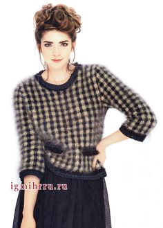 suéter de lujo izangory, patrón de prueba negro y beige, a partir de los diseñadores franceses.  radios