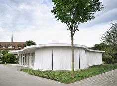 Pavillon SSBL Rathausen, Lussi+Halter.