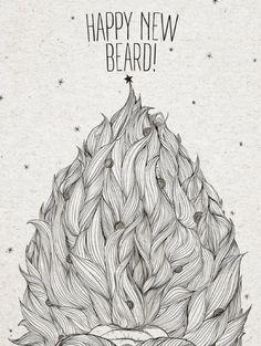 Happy New Beard via @MrMoms