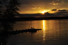 The sunsets are getting later! Summer is coming in the Poconos on Lake Wallenpaupack! Can't wait!