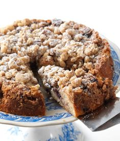 Gluten-Free Blueberry Coffeecake: another magic mix miracle: Blog | King Arthur Flour