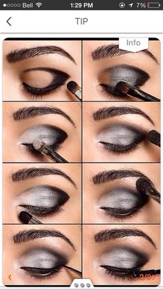 make up guide Eye Make up Ideas Get the latest Eye Make up How Tos, Eye Makeup Tips and Tricks only at StyleCraze. make up glitter;make up brushes guide;make up samples; Beauty Secrets, Beauty Hacks, Beauty Care, Beauty Tutorials, Scene Makeup Tutorials, Women's Beauty, Hair Tutorials, Beauty Room, Beauty Ideas