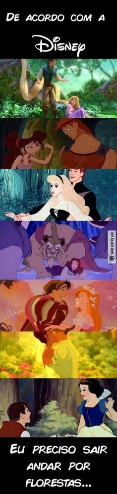 Sempre vai ter algum príncipe por lá