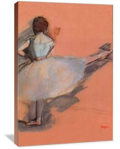 Ballet Dancer (Ballet Dancer - Edgar Degas (1834-1917) was a French artist famous for his work in painting, sculpture, printmaking and drawing. He is regarded as one of the founders of Impressionism.)