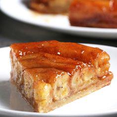 Upside-Down Banana Tart Recipe by Tasty