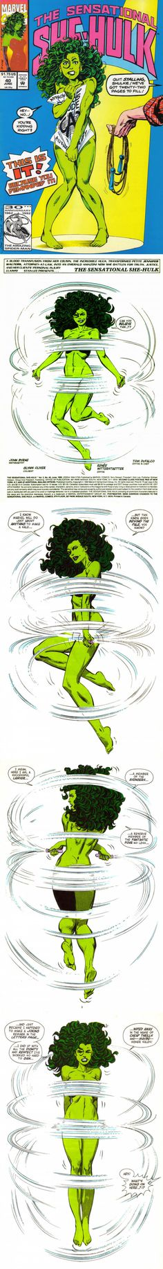 Why Marvel should give us a She-Hulk movie...